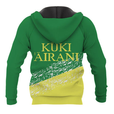 Cook Island Kuki Airani Pattern with logo  all over print