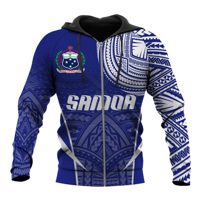 Samoa Active Special Hoodie all over print - luxamz