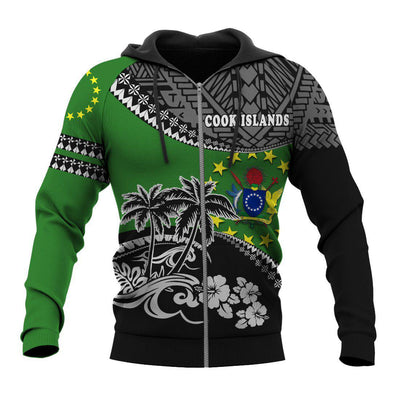 Cook Islands Polo Fall In The Wave all over print - luxamz