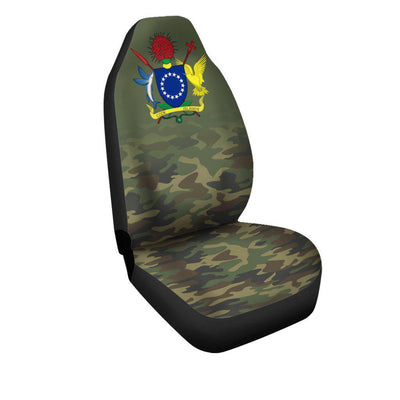 Cook Islands Camo Car Seat Cover - luxamz