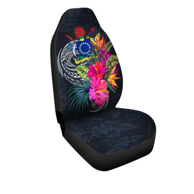 Cook Islands Polynesian Custom Personalised Car Seat Covers