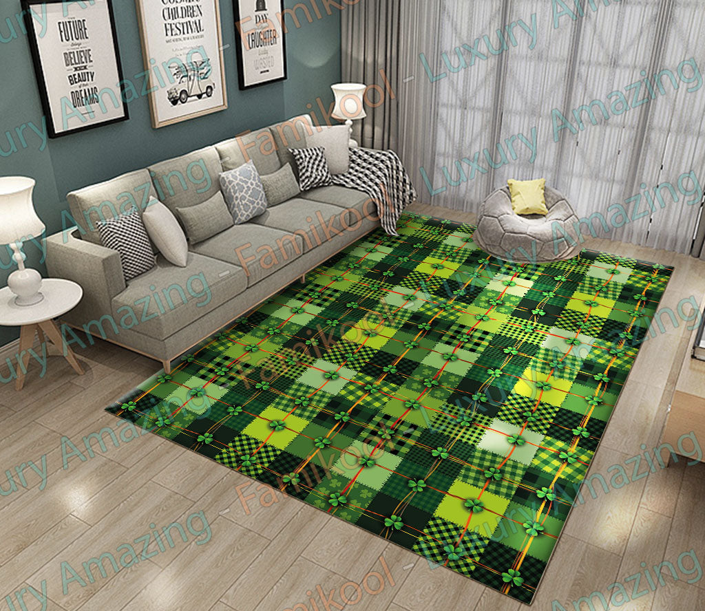 Irish with shamrock Rug