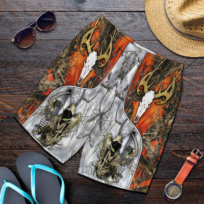 BOW HUNTER Combo Beach Shirt And Short All Over Print - luxamz