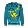 Hawaii Polynesian Pattern With Flag All Over Print - luxamz
