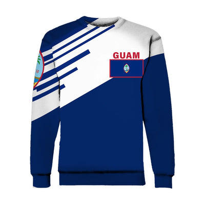 Guam Flag Coat Of Arms Line Style TH5 1ST All Over Print - luxamz