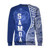 Samoa Polynesian Hoodie Coconut Tree Red And White all over print - luxamz