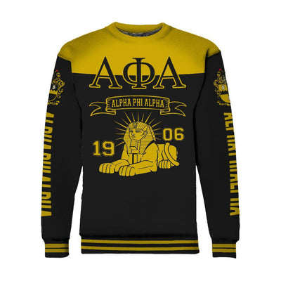 Alpha Phi Alpha lion fratenity all over print