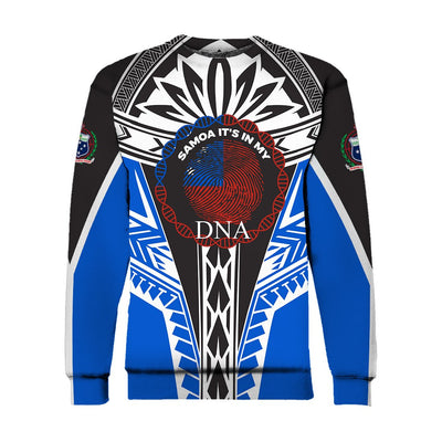 Samoa  It_s In My DNA Color BlueTail All Over Print
