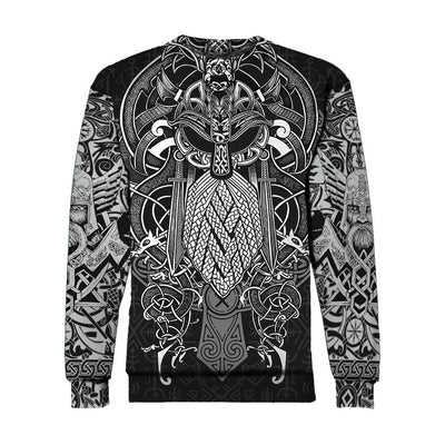 Vikings Odin Tattoo Style all over print - luxamz