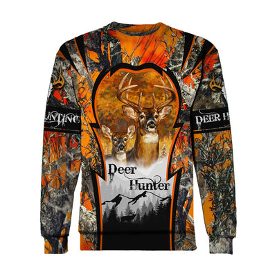 Deer Hunting Deer Hunter all over print shirts for men and women - luxamz