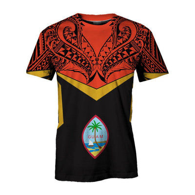 Guam Unisex Tribal Style All Over Print