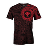 HAWAII FLAG POLYNESIAN TATTOO RED all over print - luxamz