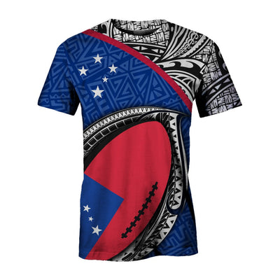 Samoa Rugby Ball All Over Print - luxamz