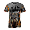 DEER HUNTING LOVER HOBBIES ALL OVER PRINT SHIRT FOR MEN AND WOMEN