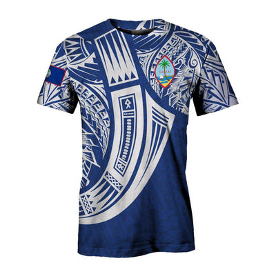 Guam Polynesian special cultural Tribal Tattoo All Over Print