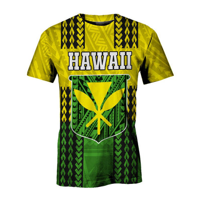 Polynesian Hawaii Flag Hibiscus special cultural  all over print