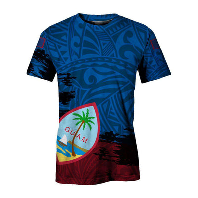 Guam special tribal cultural Polynesian All Over Print - luxamz