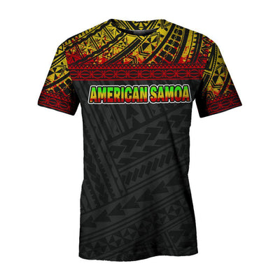 American Samoa All Over Custom Personalised All Over Print
