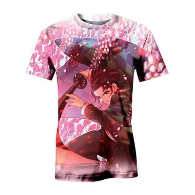 Cherry Blossom Tanjiro All over print