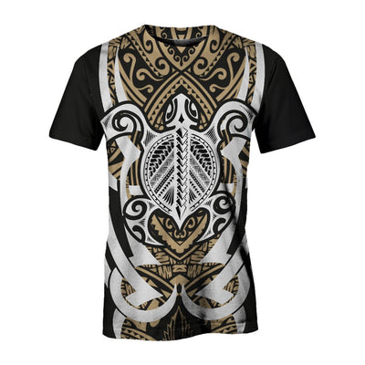 Hawaii Turtle Tribal ALL OVER PRINT