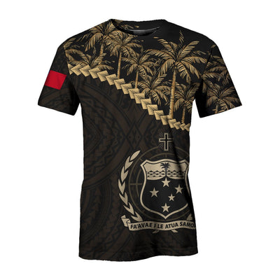 Samoa Golden Coconut All Over Print