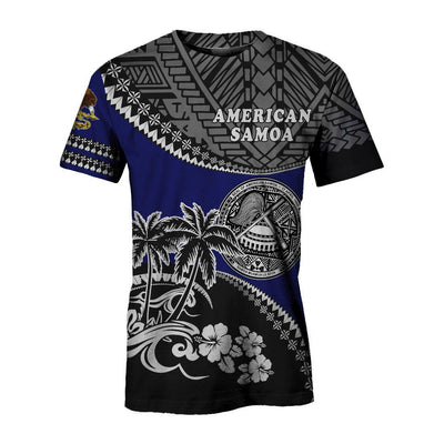 American Samoa Fall In The Wave All Over Print