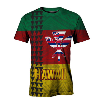 Hawaii Kanaka Flag all over print