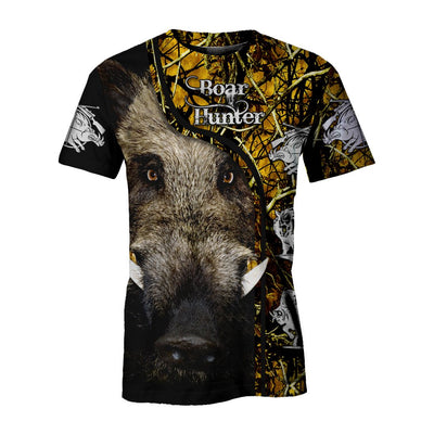 Boar hunting lover hunter All Over Printed Shirts For Men And Women