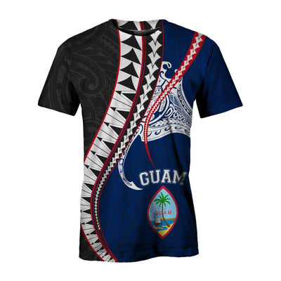 Guam Polynesian Manta Polynesian All Over Print