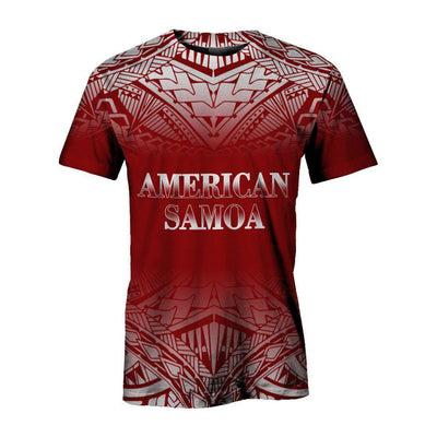 American Samoa All Over Print
