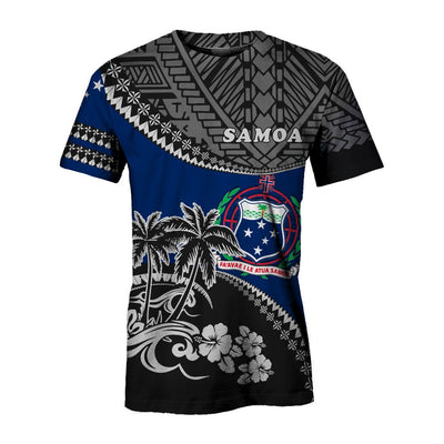 Samoa Shirt Fall In The Wave All Over Print