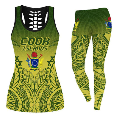 Kuki Arirani Cook Islands Premium tank-top and legging 3d all over print - luxamz