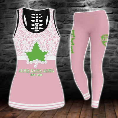 Limited Edition tank-top and legging 3d all over print