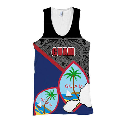 Guam Flag Pride Style All Over Print - luxamz