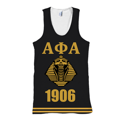 Alpha Phi Alpha Manly Deeds all over print