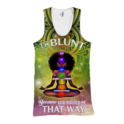 I_M BLUNT ALL OVER PRINT - luxamz