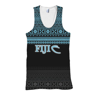 Fiji Rugby Fijian Tapa Pattern All Over Print - luxamz