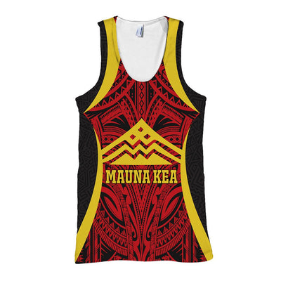 Hawaii Mauna Kea special tribal cultural colorful  Polynesian All Over Print - luxamz