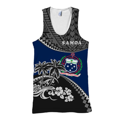 Samoa Shirt Fall In The Wave All Over Print - luxamz