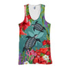 Kanaka Maoli Hawaiian - Polynesian Turtle Hibiscus And Seaweed all over print