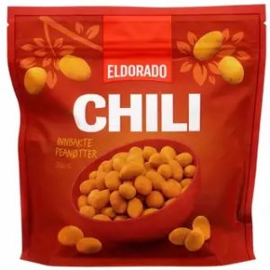 Chilinuts 175 gram (Chilinøtter)