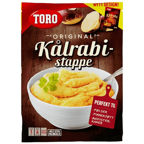 Toro Yellow turnip mashed mix 85 gram (Kålrabistappe)