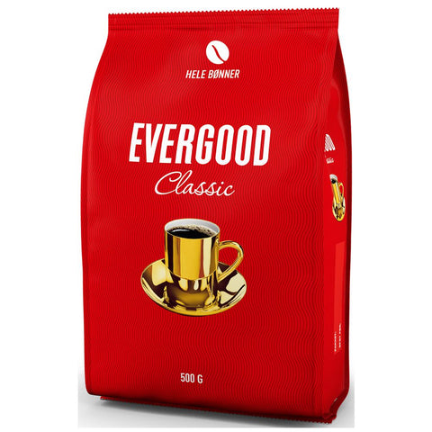 Evergood coffee beans 500 gram