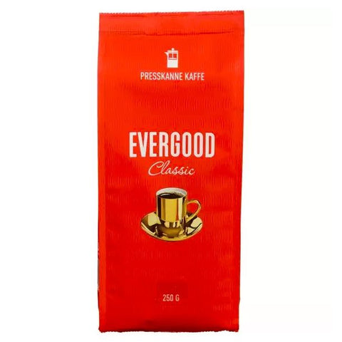 Evergood press-ground coffee 250 gram