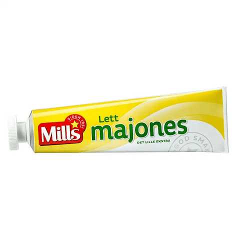 Mills light mayonnaise 170 gram (Lett majones)