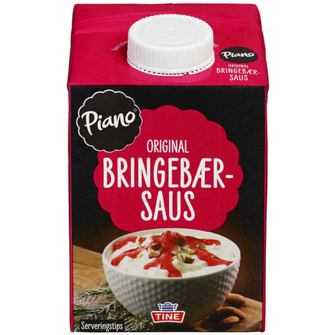 Piano Raspberry Sauce (Bringebær saus) 500 ml