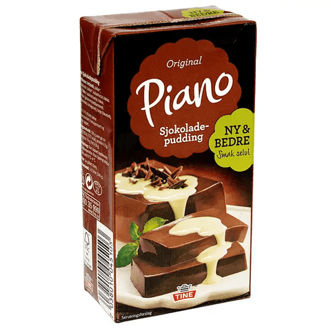 Piano Chocolate pudding (Sjokoladepudding) 500ml