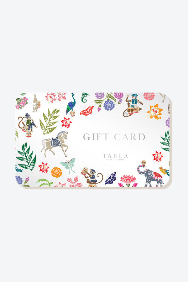TABLA Virtual Gift Card