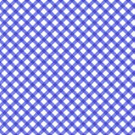Just Lemons Blue Gingham