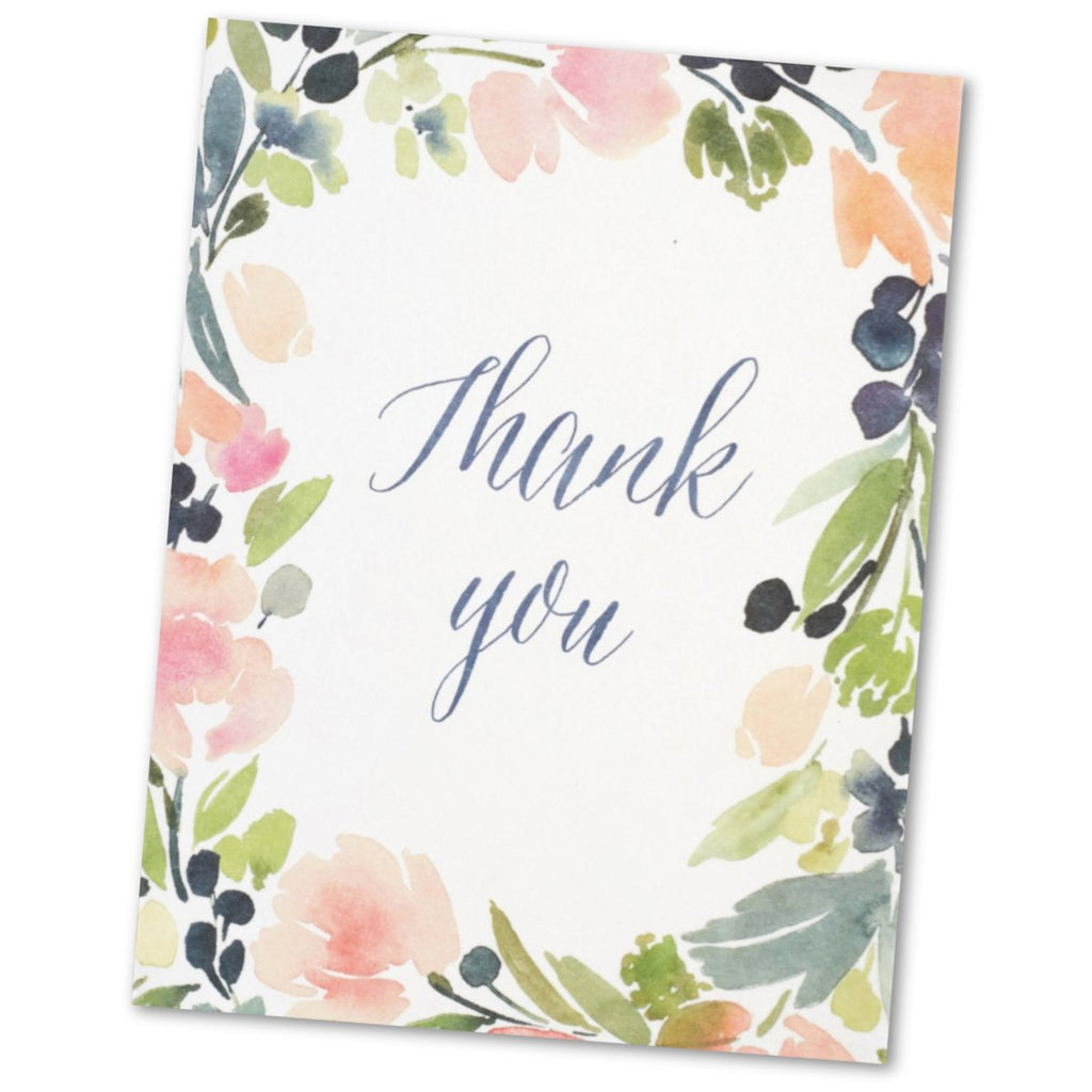 Thank You Greetings Card (will vary)